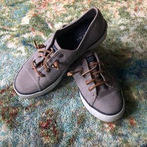 | Sperry | Gray Boat Shoes